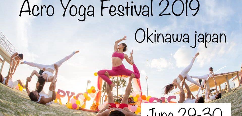 Acro Yoga Festival 2019 Okinawa Japan